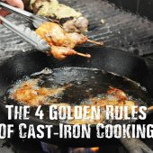 The 4 Golden Rules Of Cast-Iron Cooking
