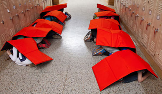 Bulletproof Blanket Specifically Made For Your Kids To Use During School Shootings