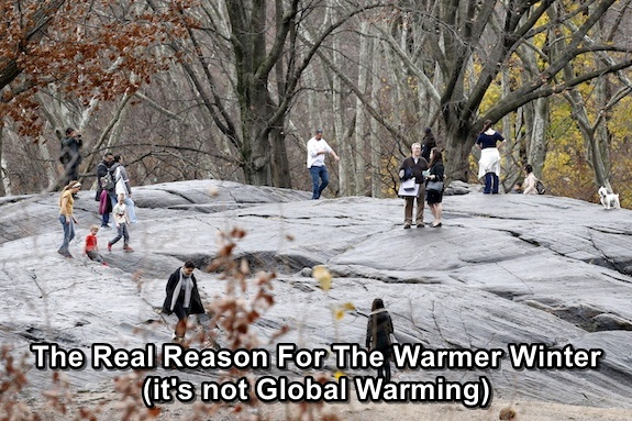 The Real Reason For The Warmer Winter This Year