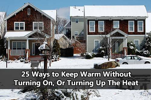 how to keep warm without heat