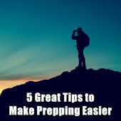 5 Great Tips to Make Prepping Easier