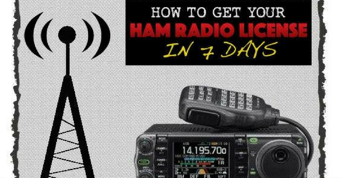 How To Get Your HAM Radio License In 7 Days — In today's world of instant communications via the internet and cell phones, it is easy to forget that radio communications started it all. What most of us don't realize is the amount of infrastructure on which today's communications rely.