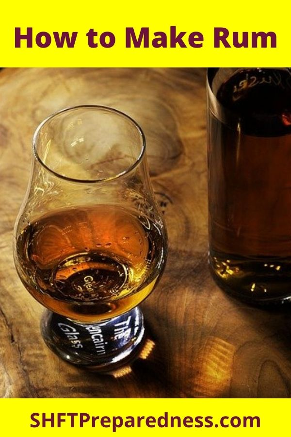 There is nothing like enjoying an adult beverage now and then. I will say as a bit of a warning to pass on to others, rum made from a pot still has some wildly different characteristics than Bacardi or other off the shelf rums.