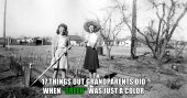 "17 Things Our Grandparents Did When ""Green"" Was Just A Color - Our grandparents (or great-grandparents) - children of the Great Depression - could teach us a thing or two about going green on a budget."