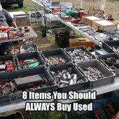 8 Items You Should ALWAYS Buy Used