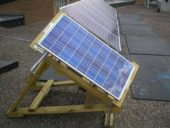 Being able to follow the sun's path through the sky can raise your solar panel system's output considerably (30-50%)