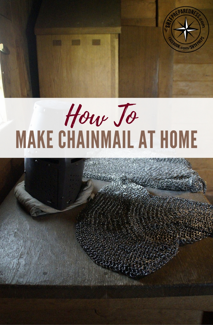 How To Make Dining Room Decorating Ideas To Get Your Home: How To Make ChainMail At Home