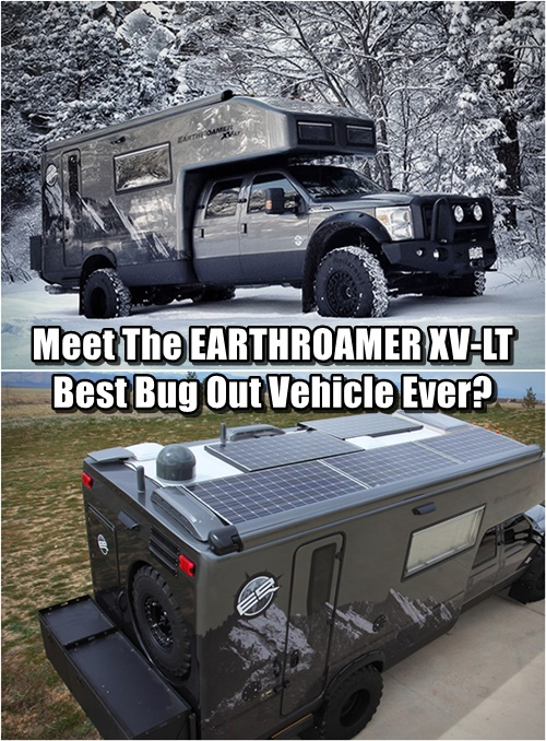 Best Bug Out Vehicle : Meet the earthroamer xv lt best bug out vehicle ever
