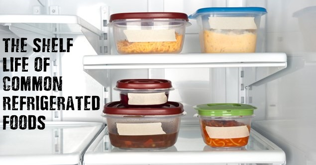 The Shelf Life Of Common Refrigerated Foods Shtf