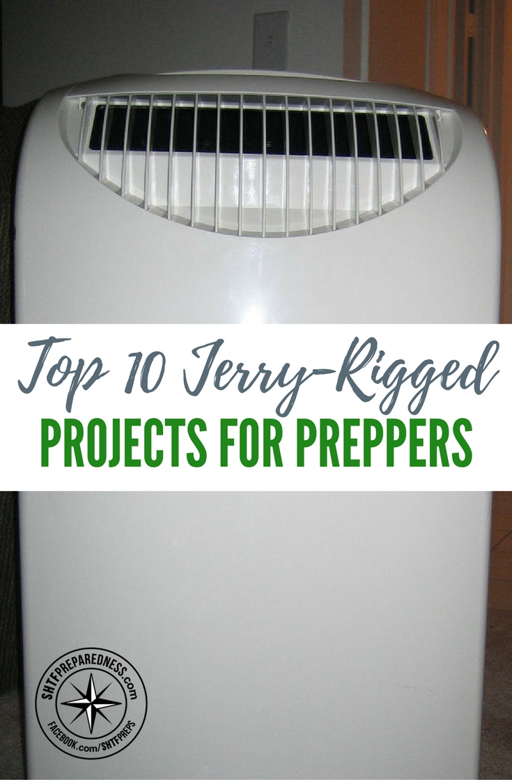 Top 10 Jerry-Rigged Projects for Preppers — When it comes to survival, these projects will not only help you out in emergencies but give you the mindset to think outside of the box and enable you to repair, make and Jerry-Rig projects from odds and ends laying around you.