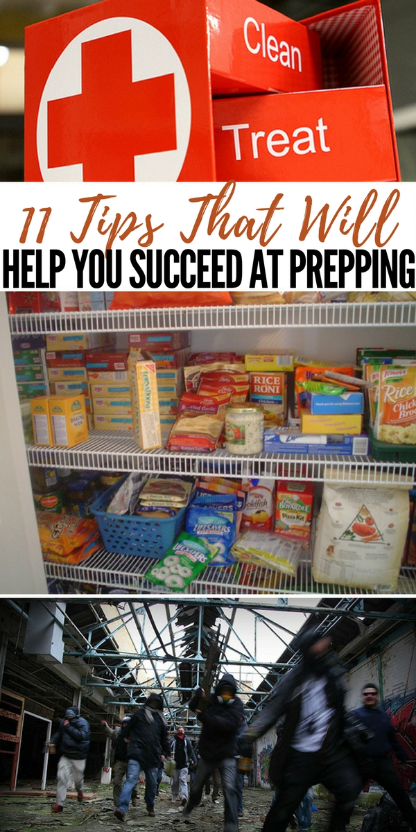 11 Tips That Will Help You Succeed at Prepping - Prepping for anything from a burn at a cookout to a full on economic disaster brings with it many challenges that go beyond the things you can buy.