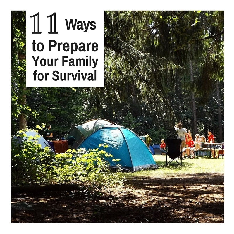 11 Ways to Prepare Your Family for Survival - With all the chaos in the world today, many people are thinking of ways and taking steps to ensure the safety and health of their family. They are getting prepared for the unknown and looking for ways of preparing for themselves and their family.