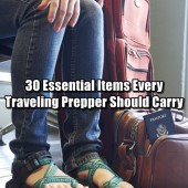 30 Essential Items Every Traveling Prepper Should Carry