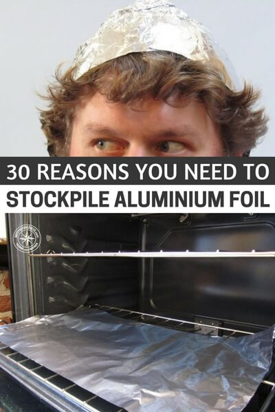 30 Reasons You Need To Stockpile Aluminium Foil - I have always had luck getting some great deals on foil from the Dollar Tree store. I have managed to get the thicker kind too. I hate the thin foil you can buy.If you are a prepper or thinking about prepping, or even if you want to save money, this article is for you. See why you need to stockpile it today.