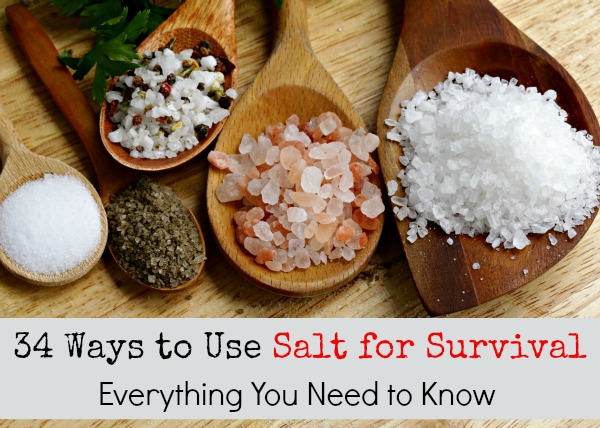34 Ways to Use Salt for Survival