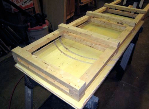How to Build Inexpensive Basement Storage Shelves - This storage could be made to fit any room but the most obviously place is a basement, if you have one. Read on to see the tutorial which has a lot of pics to help you along the way!