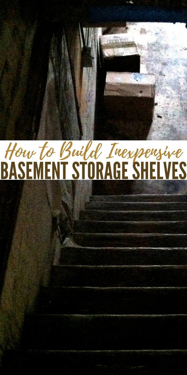 How to Build Inexpensive Basement Storage Shelves— Having room to store your preps is always going to be a tough one. Shelving and storage is expensive and could cost in the hundreds if not considerably more.