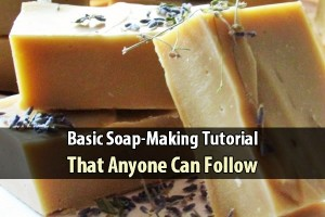Basic Soap-Making Tutorial That Anyone Can Follow