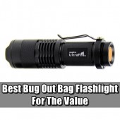 Best Bug Out Bag Flashlight For The Value