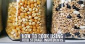 How To Cook Using Food Storage Ingredients - Along with a free ebook there are some additional recipes and information, including tips and tricks, on how to better use those food storage ingredients. In a survival situation, this kind of information and skill will be absolutely invaluable.