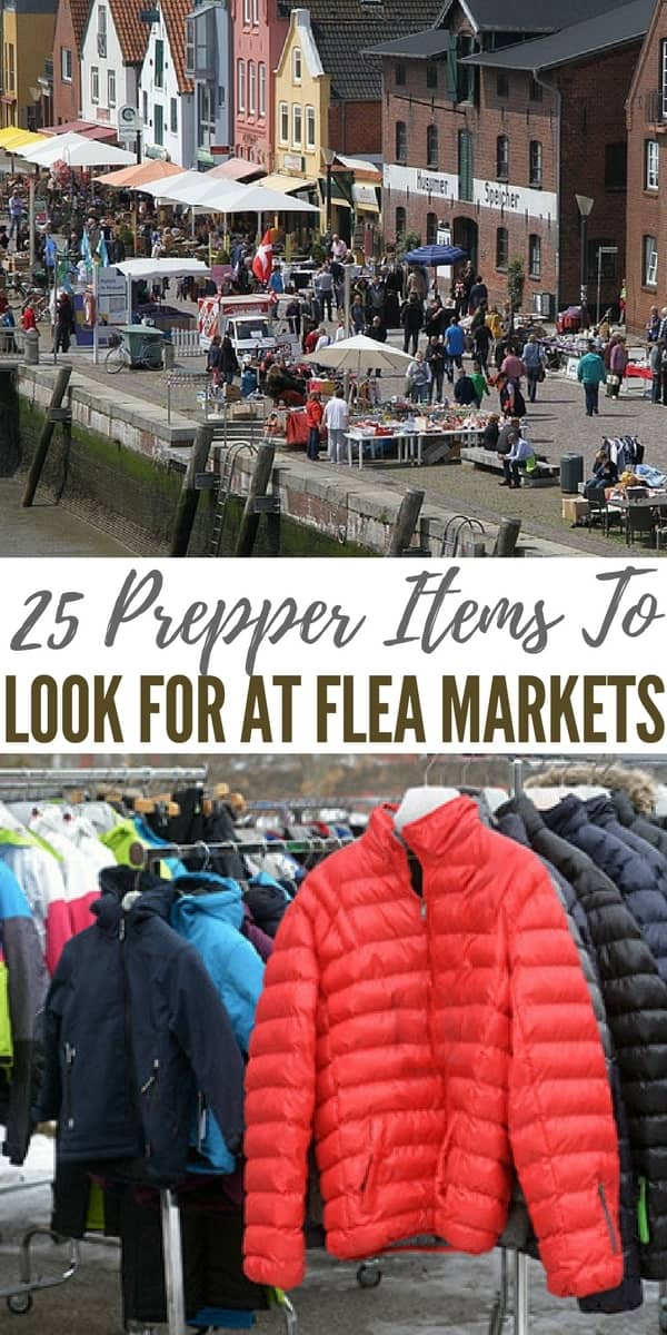 Flea markets and thrift stores can be goldmines if you're interested in preparedness. You can find your prepper items in these stores.