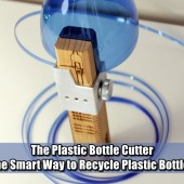 The Plastic Bottle Cutter - The Smart Way to Recycle Plastic Bottles - This is an ideal tool given the preponderance of plastic bottles and the immediate usefulness of rope if SHTF