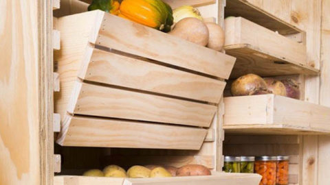 Customize Your Root Cellar Storage DIY Project