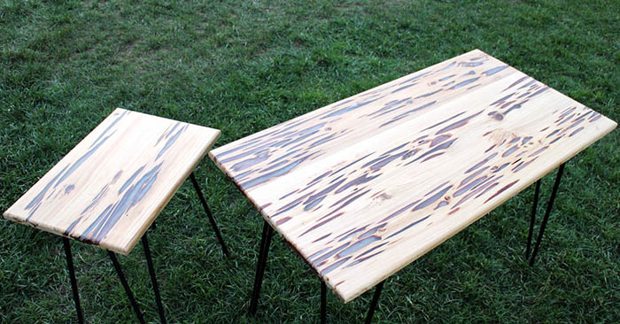 DIY Glow In The Dark Table - This will no doubt be the center of attention at any BBQ so get busy and make one today. Heck, you could probably make them and give them away as gifts. I know I will. Check the project out and let me know what you think.