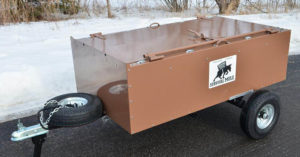 The Survival Mule - The Steel Locker That Converts Into a Trailer - The preparednesssecured in a well-stocked Muleis Survival Insurance and peace of mind, knowing you are ready for contingency situations.