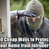 10 Cheap Ways to Protect Your Home from Intruders