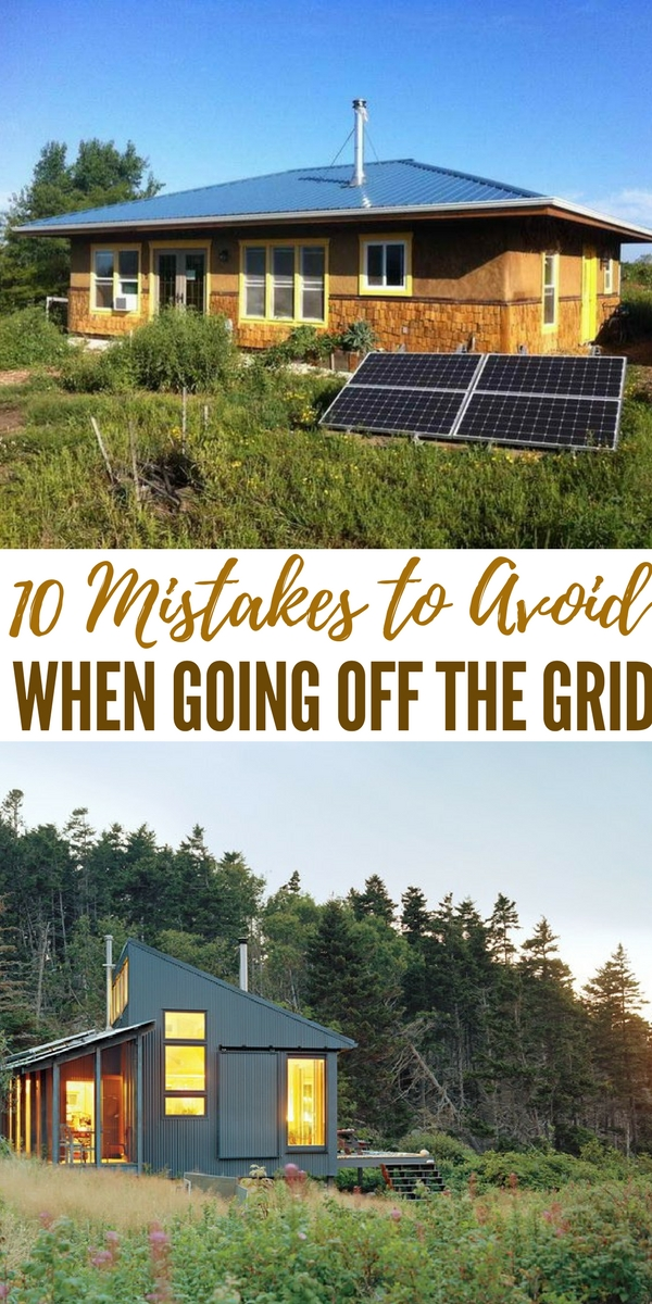 how to go off the grid