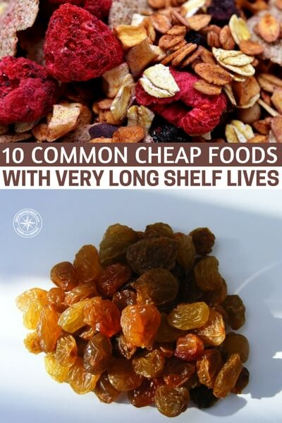 10 Common Cheap Foods with Very Long Shelf Lives - One of the first options to consider are MREs. What I like about MREs is that you can buy them in bulk. Since the military uses them, you can be rest assured that they are perfect for any situation. Another quality option are dehydrated foods. Dehydrated foods are any food that has had its moisture content removed.