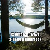 12 Different Ways to Hang a Hammock