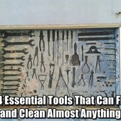 14 Essential Tools That Can Fix and Clean Almost Anything