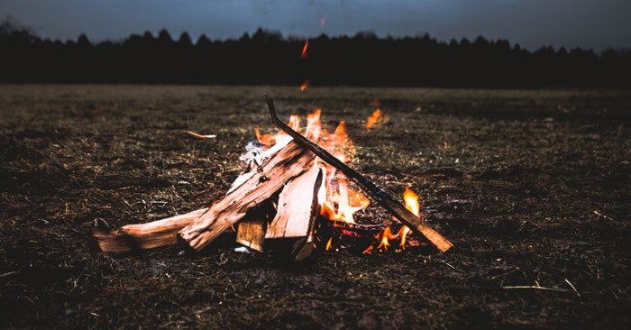15 Unique Ways to Start a Fire - Simple. You slowly grind your lighter against a smooth patch of concrete until you accumulate a pile of dust from the flint stick in the lighter. Then you combine that with some tinder, use the lighter to throw a spark at it, and it should easily catch fire.