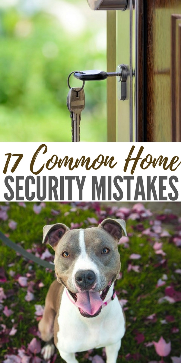 17 Common Home Security Mistakes - Even if a disaster never happens in your area, home security is still vital. In the United States, a burglary happens every 16 seconds. And incredibly, a third of those burglaries happen to people who simply left a door or window unlocked. But that is just one of many crucial mistakes people make when it comes to home security.