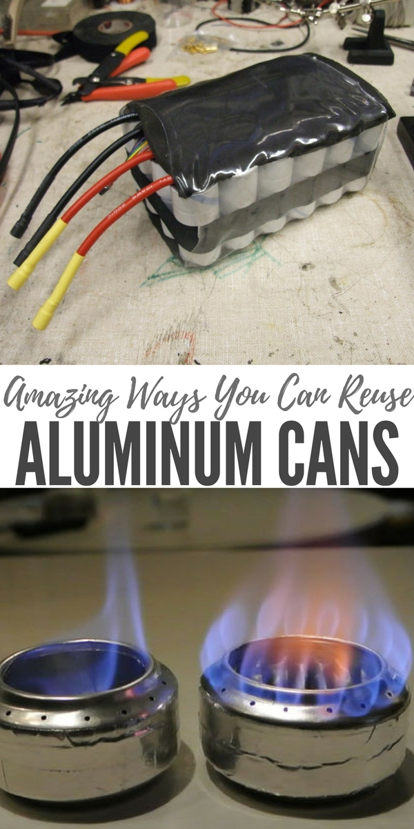 Amazing Ways You Can Reuse Aluminum Cans - I have shared articles on the subject of soda can stoves, DIY soda can shingles, soda can solar heaters and even how to open a padlock with a soda can. Now you can add a couple more items to the list!