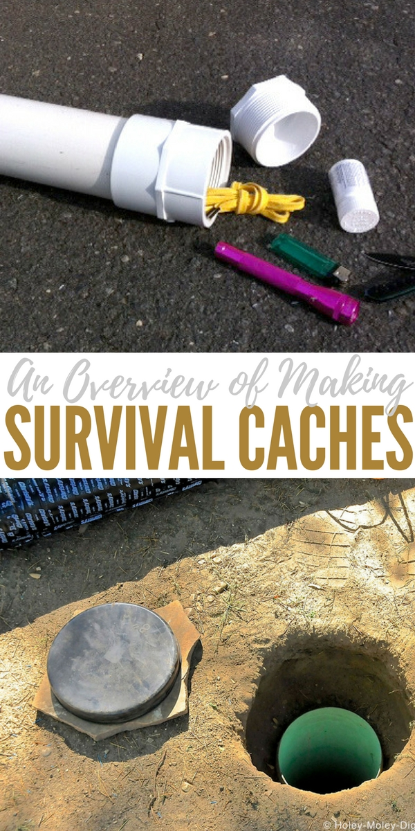 An Overview of Making Survival Caches - For both the newbie or veteran prepper, it helps them to drill down to their needs and requirements based on the climate they live in, if they have a Bug Out Location (BOL), and different ways you can structure your survival caches to compliment each other. Also included are places to avoid putting a cache, too!