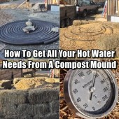 How To Get All Your Hot Water Needs From A Compost Mound