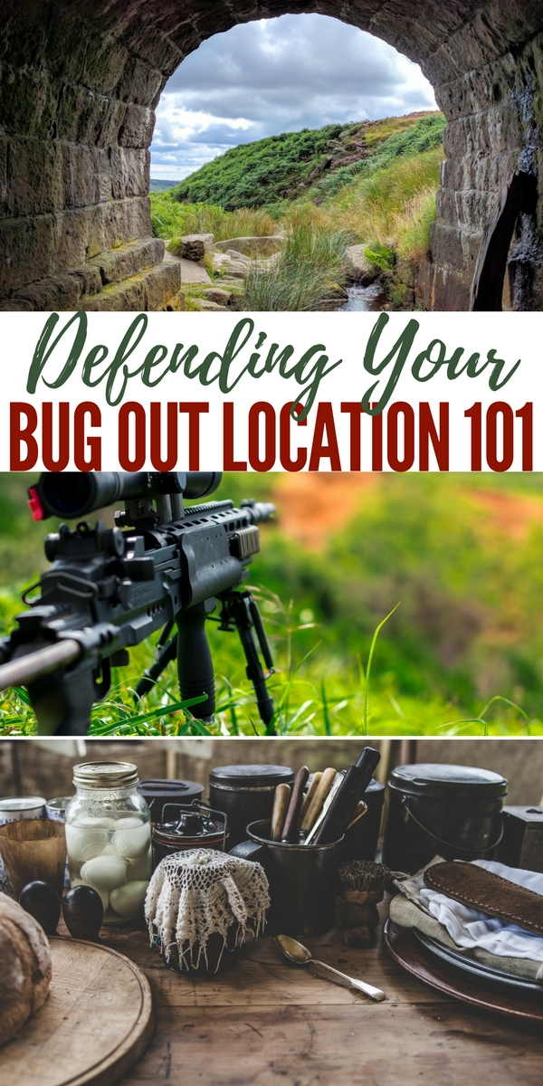 Bug Out Location Design : Defending your bug out location