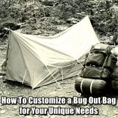 How To Customize A Bug Out Bag For Your Unique Needs
