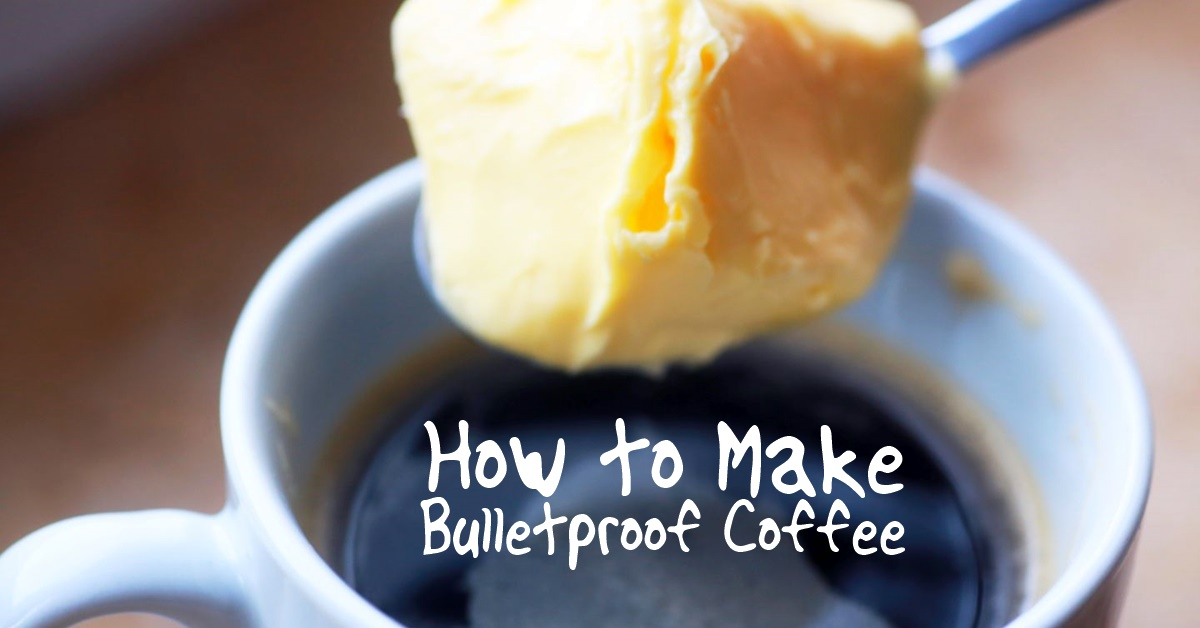 How To Make Bulletproof Coffee - The idea is that you add a few extra ingredients to your morning coffee and you will get extended energy and focus also with the added benefit of it helping you to loose a few pounds!