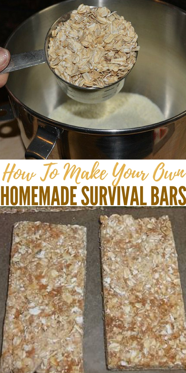 How to make your own homemade survival bars for How to build your own bar cheap