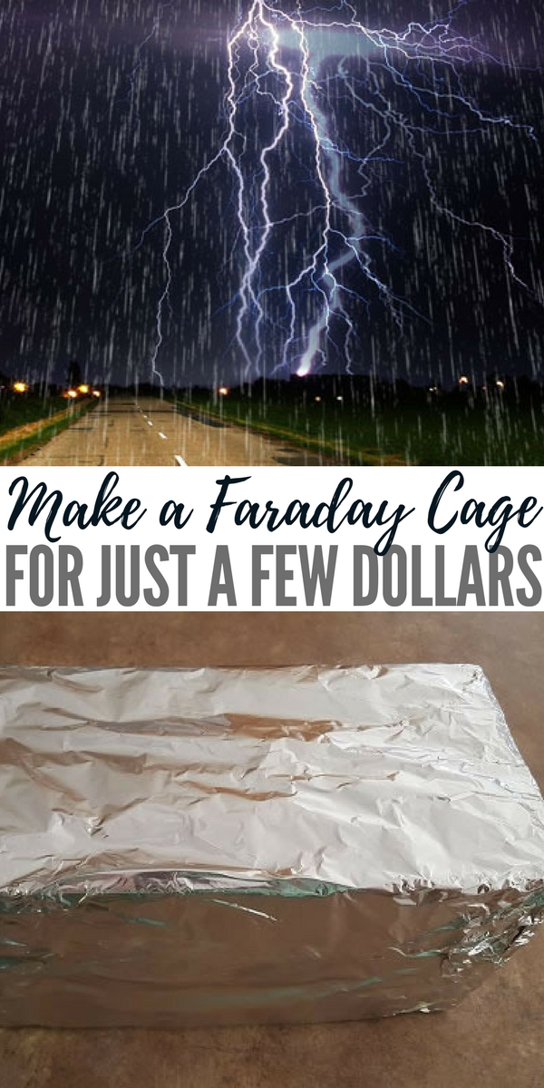 Make a Faraday Cage For Just a Few Dollars - If you're living in the city when an EMP happens, you'll want to bug out as quickly as possible. Unfortunately, all your electronics will be nonfunctional. To get around this, it's recommended that you put some essential electronics (radios, laptops, solar chargers, etc.) in a Faraday cage where they'll be safe.