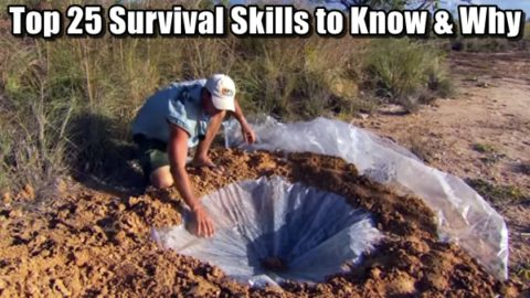 Top 25 Survival Skills to Know and Why