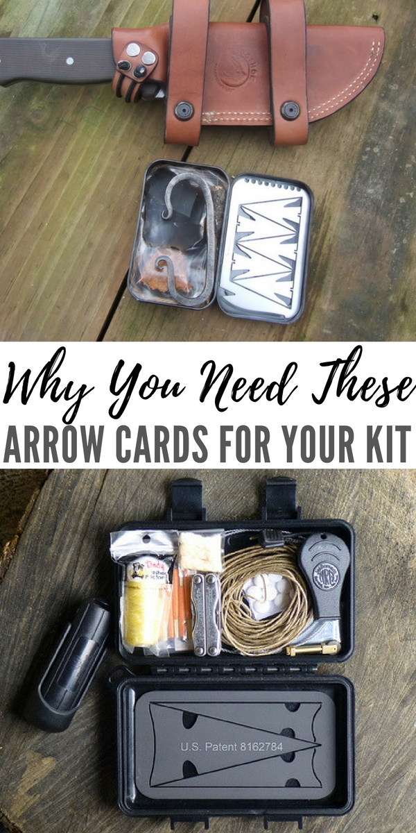 Why You Need These Arrow Cards For Your Kit - You need these for you kit because they could help you secure valuable protein in the form of meat if you ever find yourself in a survival situation. They are light and can be put anywhere in your kit, even a jacket pocket or wallet.