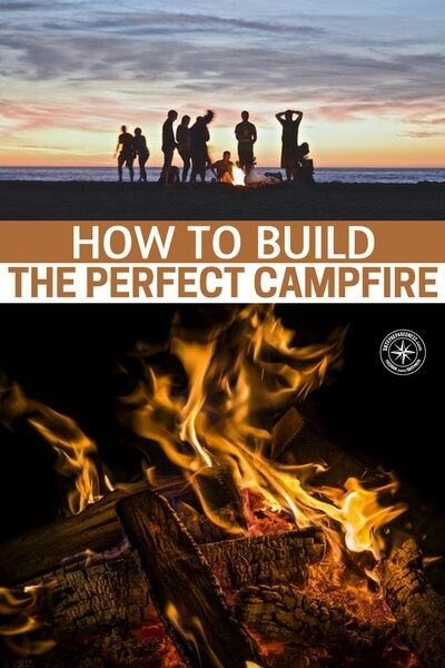 How to Build the Perfect Campfire - The hottest pile of burning fuel occurs when the height of the pile is roughly the same as its base diameter. In other words, the best fires are built to be as tall as they are wide.