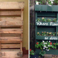 How To Build Your Own Vertical Garden with a Pallet - Makinga garden out of a pallet is genius. Pallets are everywhere, you should be able tofind one for free at a local storeor on Craigslist.