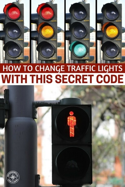 How To Change Traffic Lights With This Secret Code - Once you get there you are going to want to enter a combination of long and short clicks to get the light to change so you can cross. The first combination is going to be three short clicks. Then do two long clicks. Next do one short click. Then do two long clicks again. Finally do three short clicks. If done correctly then the light should change from green to red and this would then allow you to cross the street.