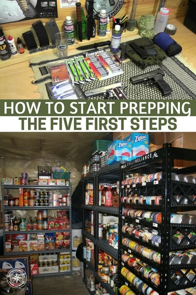 How To Start Prepping - The Five First Steps - When you are new to prepping it can be overwhelming.  I am not exaggerating, when I first started I threw away money on a lot of items I didn't need. This video will help you start out on the right foot.